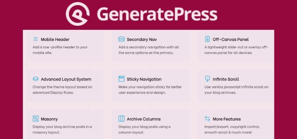WordPress GeneratePress Theme