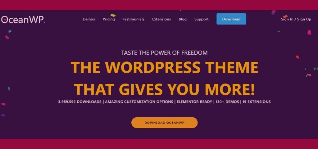 WordPress OceanWP Theme