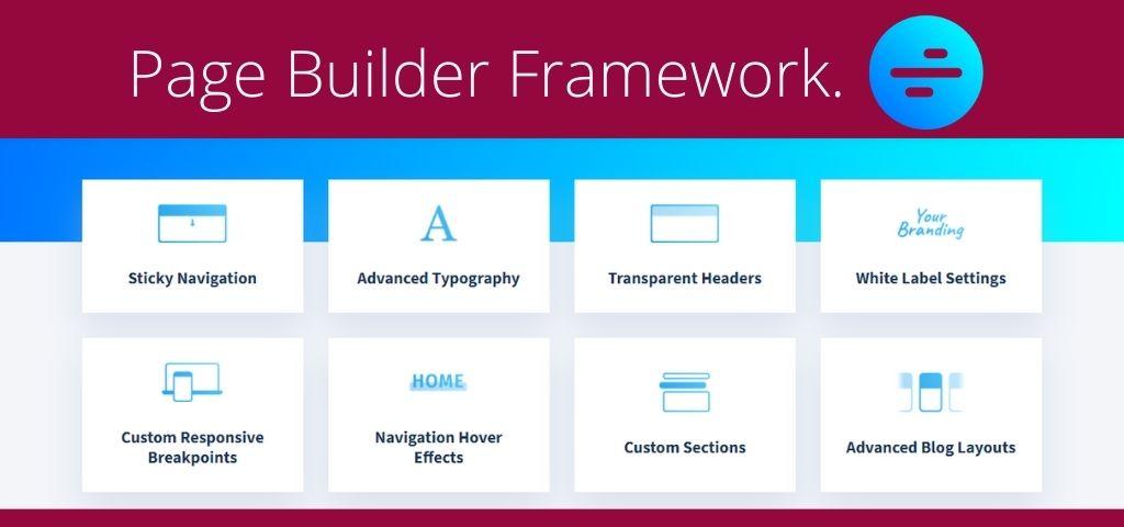 WordPress Page builder framework Theme
